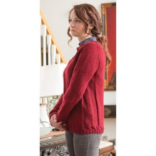Classic Elite Yarns 1410 Take It Easy Cardigan PDF -  ()