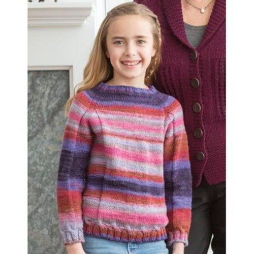 Classic Elite Yarns 1410 Take It Easy Child's Pullover PDF -  ()