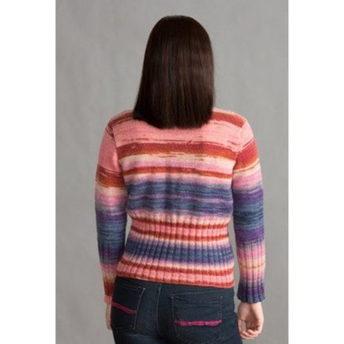Classic Elite Yarns 1417 Deep Rib Cardigan PDF -  ()