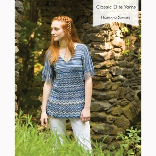 Classic Elite Yarns 1604 Highland Summer PDF - 1604 Highland Summer E Book (1604EBOOK)