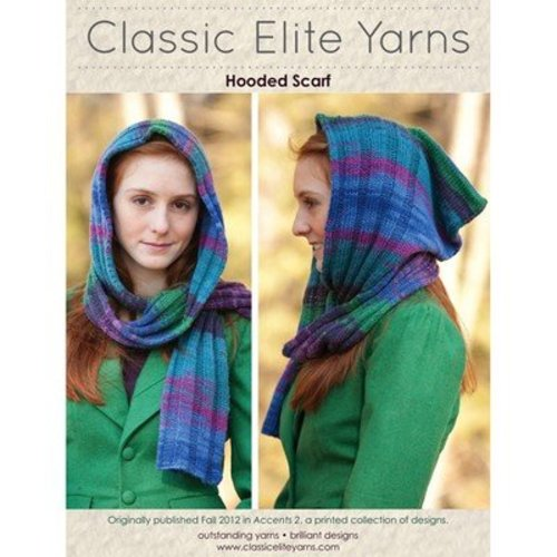 Classic Elite Yarns 9198 Hooded Scarf PDF -  ()