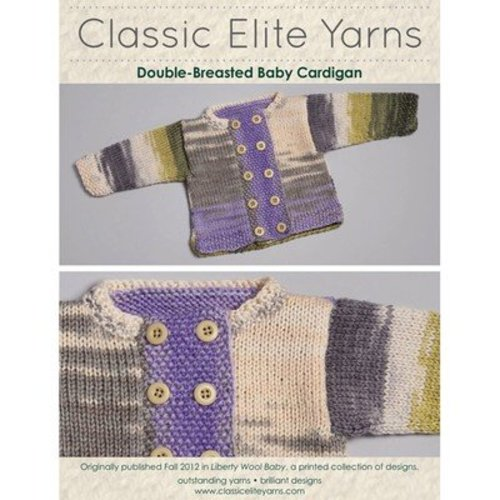 Classic Elite Yarns 9208 Double Breasted Cardigan PDF -  ()