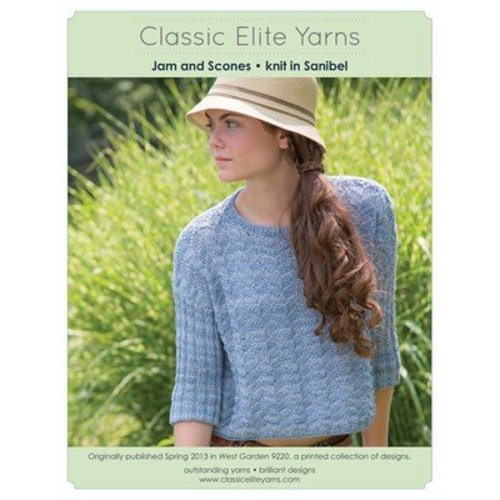 Classic Elite Yarns 9220 Jam and Scones PDF -  ()