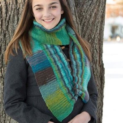 Classic Elite Yarns 9246 Two Direction Scarf PDF -  ()