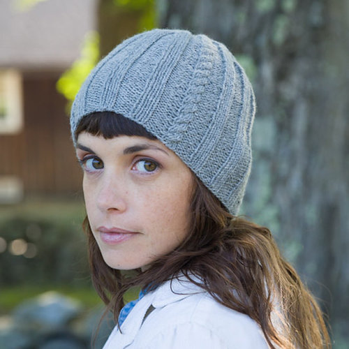 Classic Elite Yarns Adelaide Cable and Rib Hat (Free) -  ()
