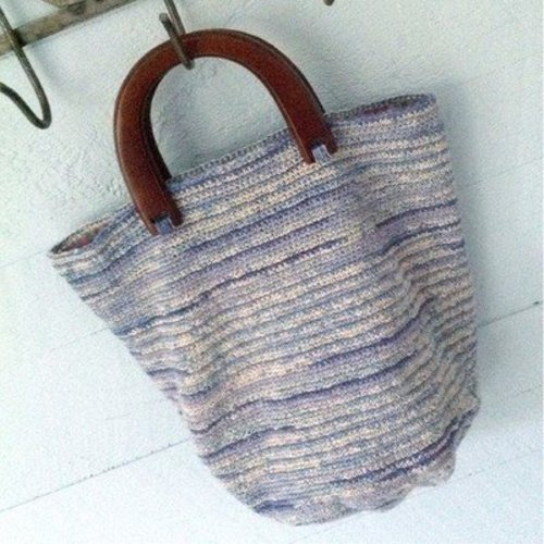 Classic Elite Yarns Bella Lino Crocheted Bag (Free) -  ()