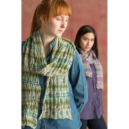Classic Elite Yarns Bella Lino Drop Stitch Scarf (Free) -  ()