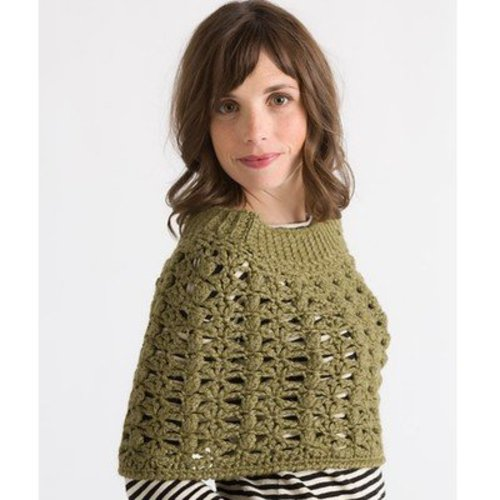 Classic Elite Yarns Crocheted Capelet (Free) -  ()