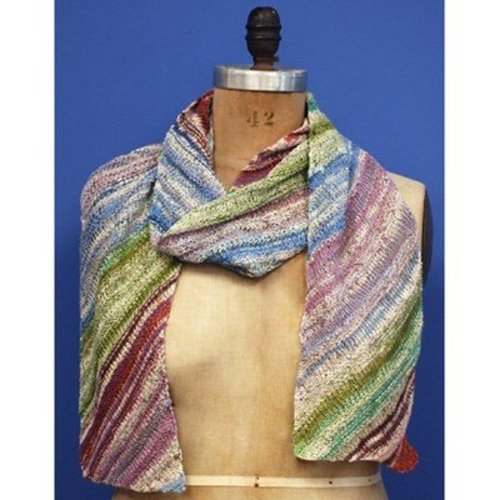 Classic Elite Yarns Diagonal Summer Scarf (Free) -  ()