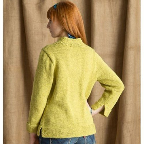 Classic Elite Yarns Double Strand Cardigan (Free) -  ()