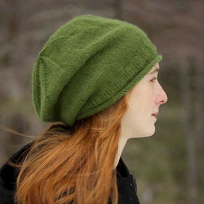 Classic Elite Yarns Fresco Simply Slouchy Hat (Free) at WEBS  916e20599a7