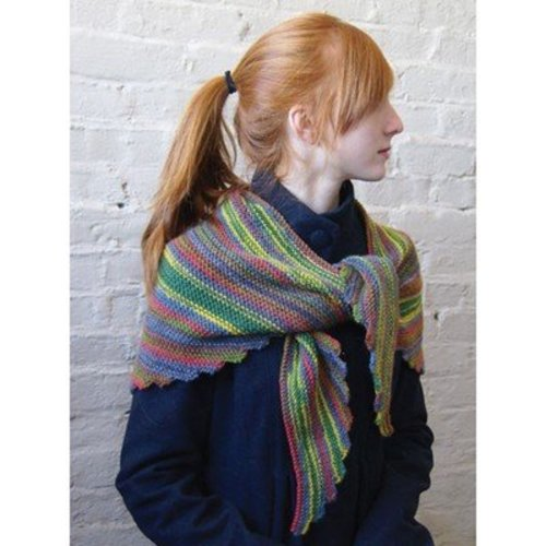 Classic Elite Yarns Garter Stitch Wrap PDF -  ()