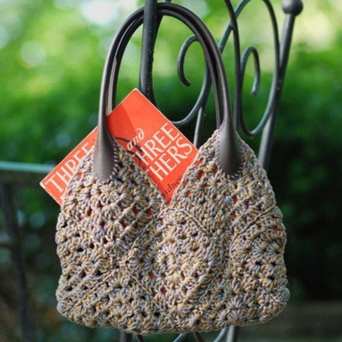 Granny Square Purse Free