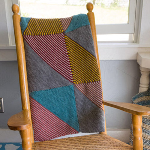 Classic Elite Yarns Half Square Triangles Throw Kit - Original (ORIG)