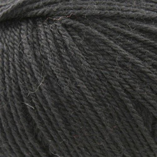 Classic Elite Yarns Liberty Wool Light Solids - Ebony (6613)