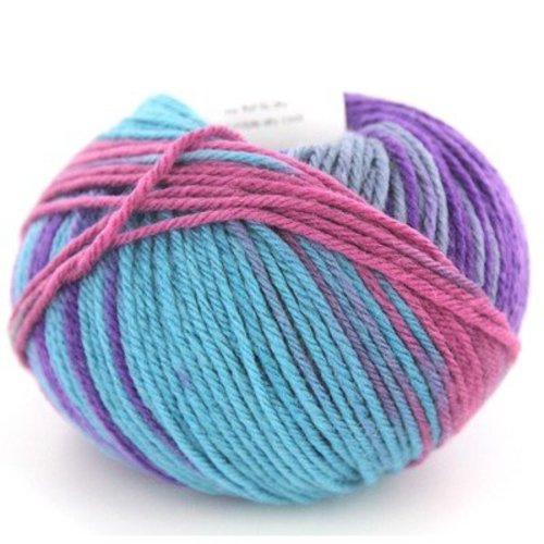 Classic Elite Yarns Liberty Wool Print - Aqua Nova - February (78117)
