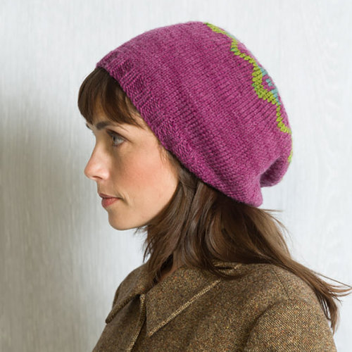 Classic Elite Yarns Liberty Wool Shadow Colorwork Hat PDF -  ()