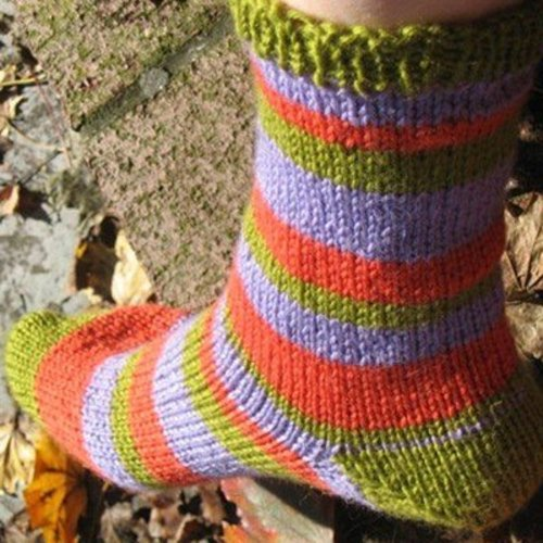 Classic Elite Yarns Liberty Wool Socks (Free) -  ()