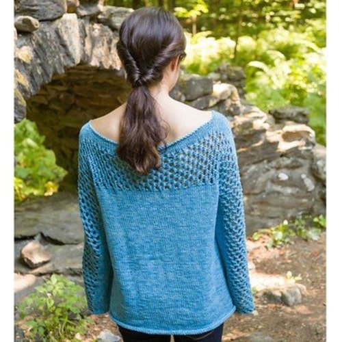 Classic Elite Yarns Mesh Panel Pullover (Free) -  ()