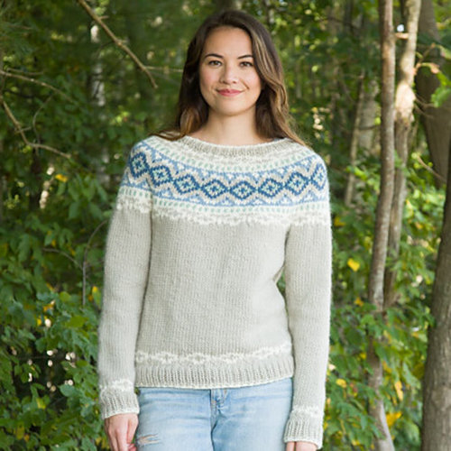 Classic Elite Yarns Mystique Yoked Pullover (Free) -  ()