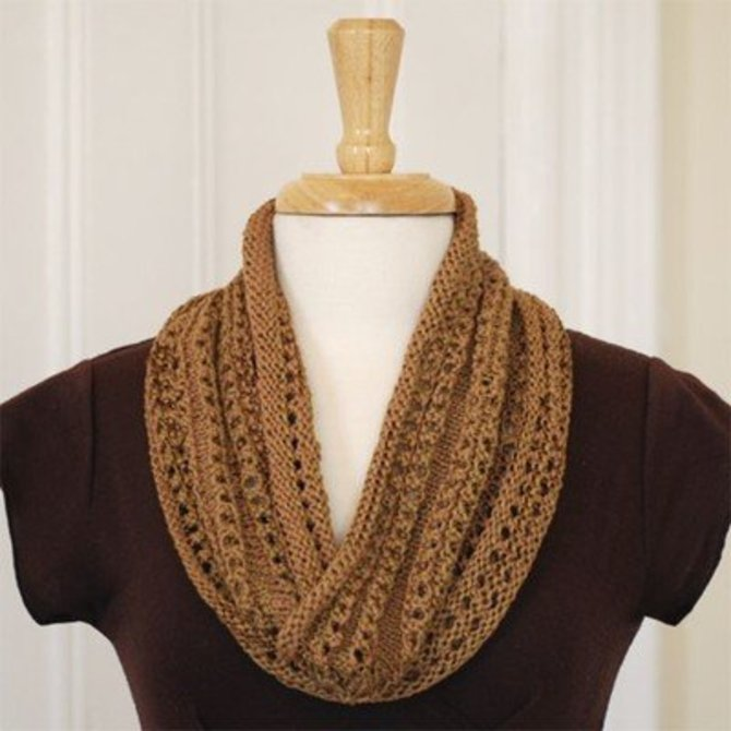 Classic Elite Yarns Sanibel Cowl (Free) at WEBS | Yarn.com