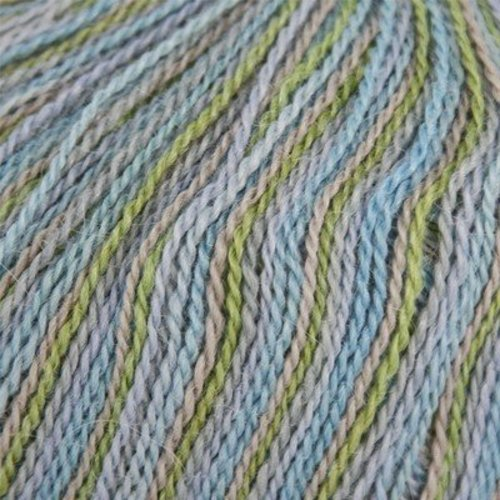 Classic Elite Yarns Silky Alpaca Lace Handpaints Discontinued Colors - Frosted Meadow (2402)