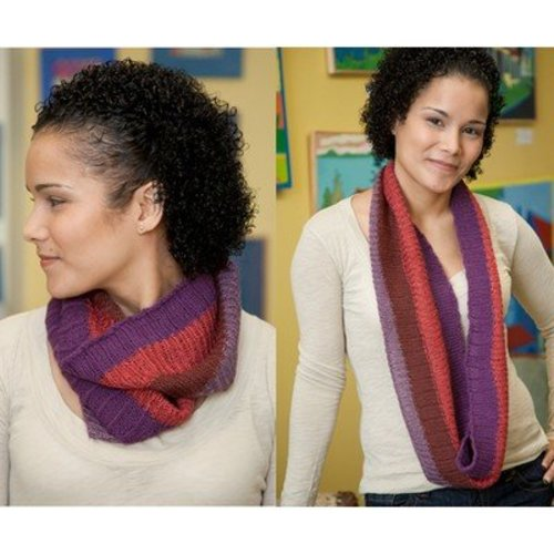 Classic Elite Yarns Soft Linen & Firefly Knitterly Cowl (Free) -  ()