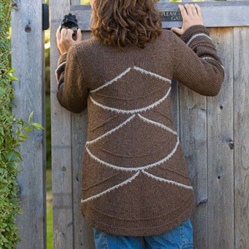 Classic Elite Yarns Viewpoints 1514 From Folly Cove - Burton Hills Jacket PDF -  ()