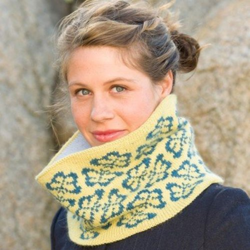 Classic Elite Yarns Viewpoints 1514 From Folly Cove - Iarrobino Butterfly Cowl PDF -  ()