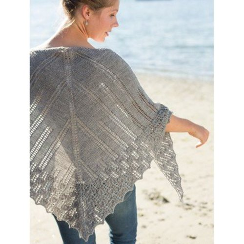 Classic Elite Yarns Viewpoints 1514 From Folly Cove - Meteori Shawl PDF -  ()