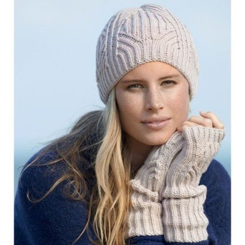 Cleckheaton 428 Brioche Beanie and Mitts -  ()