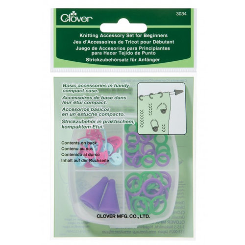 Clover Knitting Accessory Set for Beginners -  ()