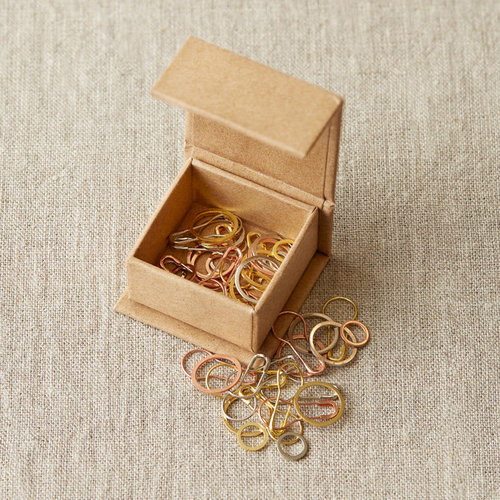 Cocoknits Precious Metal Stitch Markers - Assorted (ASST)