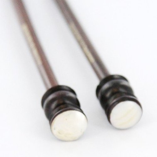 """Colonial Needle Company 10"""" Mother of Pearl Rosewood Single Point Knitting Needles -  ()"""