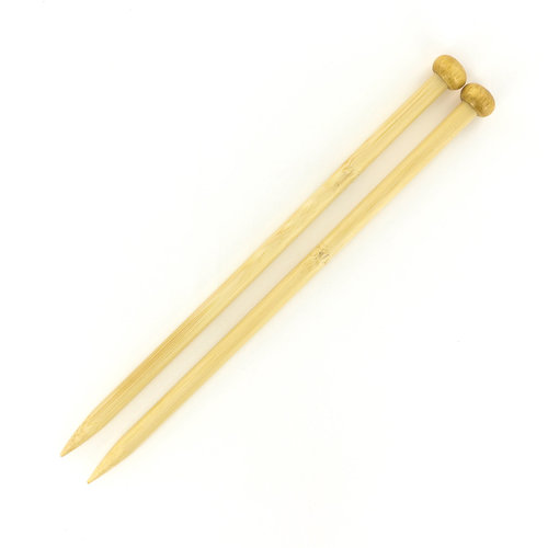 """Colonial Needle Company Bamboo 9"""" Single Points - US 11, 8 mm (11)"""