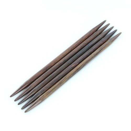 "Colonial Needle Company Rosewood 8"" Double Points - 2mm (0)"