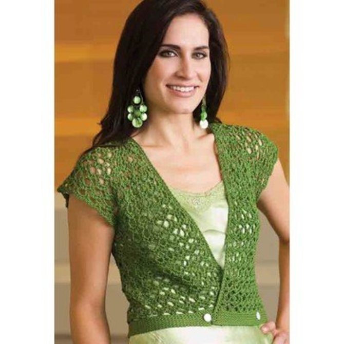 Crochet! Magazine Leaves of Summer Vest (Free) at WEBS Yarn.com