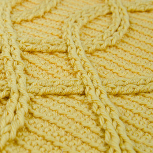 Crochet Shadow Stitch Cables with the Shibaguyz -  ()