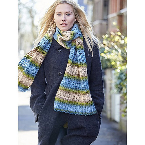 Crocheted Scarves and Cowls -  ()