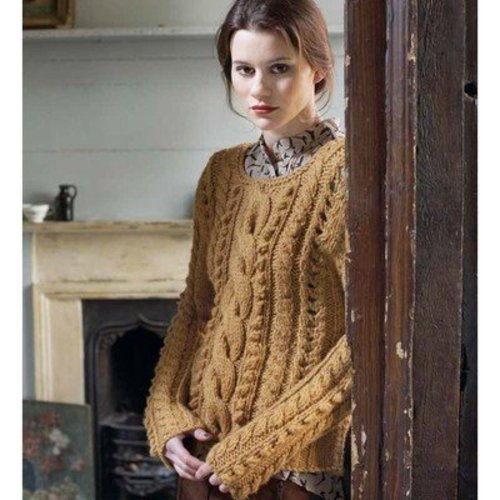 Debbie Bliss Cable and Bobble Sweater PDF - Debbie Bliss Magazine #7 -  ()