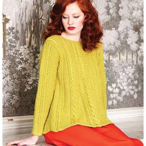 Debbie Bliss Cabled Swing Tunic PDF -  ()
