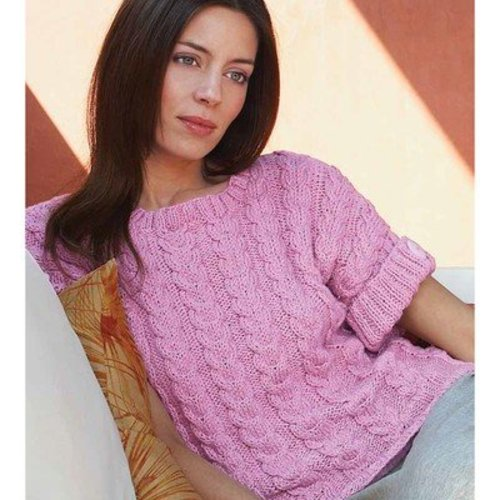 Debbie Bliss Cabled Top PDF -  ()