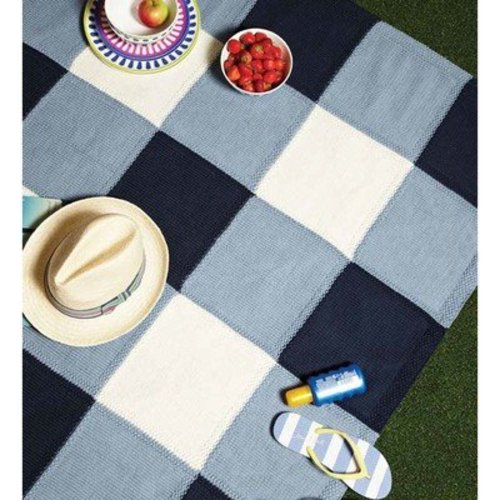 Debbie Bliss Checkered Rug PDF - Magazine #10 -  ()