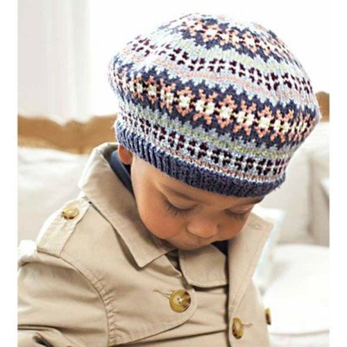 Debbie Bliss Childs Fair Isle Beret PDF -  ()