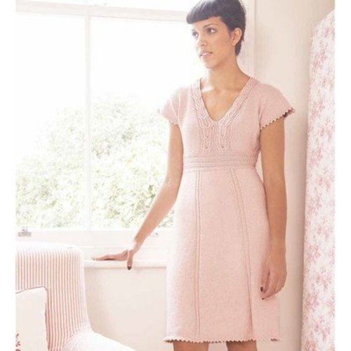 Debbie Bliss Dress PDF - Debbie Bliss Knitting Magazine #6 -  ()