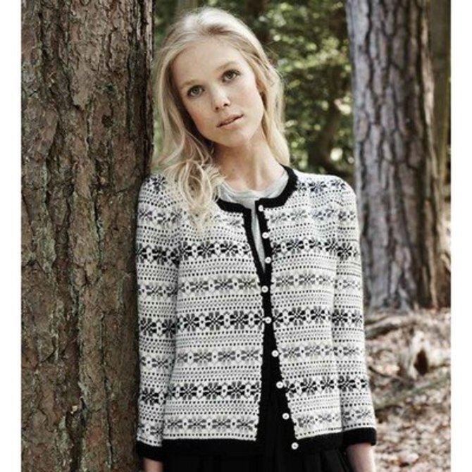 Debbie Bliss Fair Isle Cardigan PDF - Debbie Bliss Magazine #7 at ...