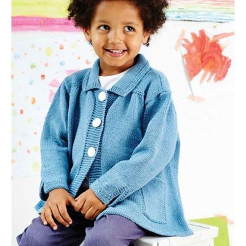Debbie Bliss Flared Smock Coat PDF -  ()