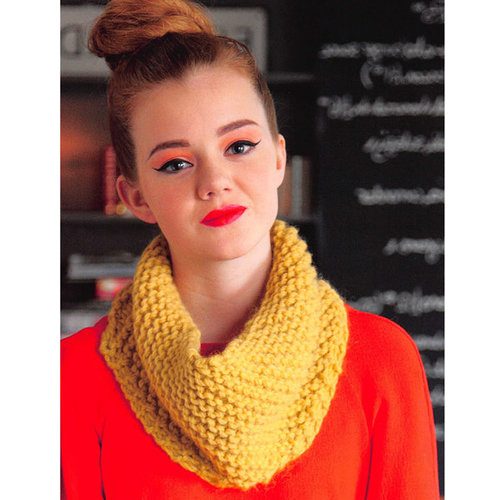 Debbie Bliss Garter Stitch Snood PDF -  ()