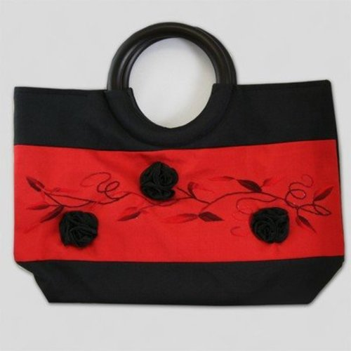 della Q Three Flowers Small Bag -  ()