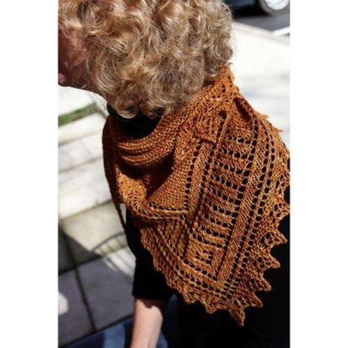 Designs by Romi Brandywine Shawl PDF -  ()